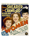 The Women  Joan Crawford  Norma Shearer  Rosalind Russell on Window Card  1939