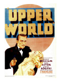 Upper World  Warren William  Ginger Rogers on Midget Window Card  1934