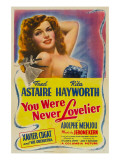 You Were Never Lovelier  Rita Hayworth  1942