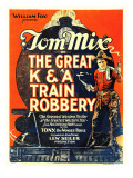 The Great K&A Train Robbery  Tom Mix  1926