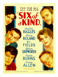 Six of a Kind  Gracie Allen  George Burns  Alison Skipworth  1934