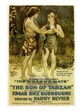 The Son of Tarzan  Kamuela C Searle  Manilla Martan in 'Episode 6: the Killer's Mate'  1920