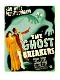 Ghost Breakers  Paulette Goddard  Bob Hope on Window Card  1940