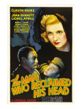 The Man Who Reclaimed His Head  Lionel Atwill  Claude Rains  Joan Bennett  1934