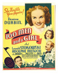 One Hundred Men and a Girl  Deanna Durbin  1937