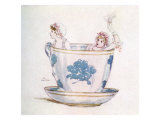 A calm in a tea-cup by Kate Greenaway