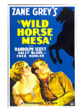 Wild Horse Mesa  Sally Blane  Randolph Scott  1932