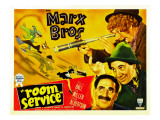 Room Service  Marx Brothers Left from Left: Chico Marx  Groucho Marx  Harpo Marx  1938