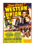 Western Union  Randolph Scott  Dean Jagger  Robert Young  Virginia Gilmore  1941