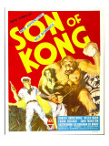 The Son of Kong  Robert Armstrong  Helen Mack on Window Card  1933