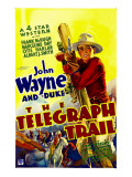 Telegraph Trail  John Wayne (Climbing Telegraph Pole)  1933
