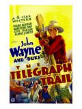 Telegraph Trail  John Wayne (Climbing Telegraph Pole)  1933