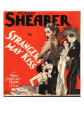 Strangers May Kiss  Norma Shearer on Window Card  1931