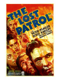The Lost Patrol  Lower Right: Victor Mclaglen  1934