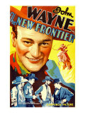 The New Frontier (Aka Frontier Horizon)  John Wayne  Movie Poster Art  1935
