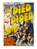 The Pied Piper  Anne Baxter  Monty Woolley  Roddy Mcdowall  1942