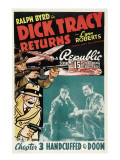 Dick Tracy Returns  'Chapter 3: Handcuffed to Doom'  1938