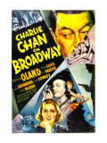 Charlie Chan on Broadway  Warner Oland  1937