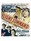 Flight Command  Walter Pidgeon  Robert Taylor  Ruth Hussey  Robert Taylor on Window Card  1940