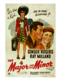 The Major and the Minor  Ray Milland  Ginger Rogers  1942