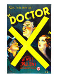 Doctor X  Lee Tracy  Lionel Atwill  Fay Wray  1932
