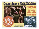 Charlie Chan at the Wax Museum  Inset Top and Bottom Second from Left: Sidney Toler  1940