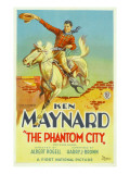 The Phantom City  Ken Maynard  1928