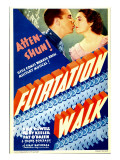 Flirtation Walk  Dick Powell  Ruby Keeler on Midget Window Card  1934