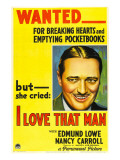 I Love That Man  Edmund Lowe  1933