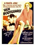 Her Bodyguard  Wynne Gibson  Edmund Lowe  Wynne Gibson on Midget Window Card  1933