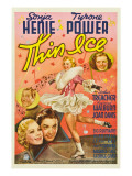 Thin Ice  Sonja Henie  Tyrone Power  Arthur Treacher  Joan Davis  1937