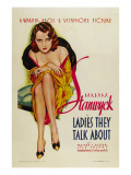 Ladies They Talk About  Barbara Stanwyck  1933
