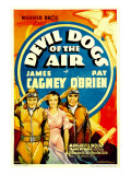 Devil Dogs of the Air  James Cagney  Margaret Lindsay  Pat O&#39;Brien on Midget Window Card  1935