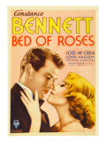 Bed of Roses  Joel Mccrea  Constance Bennett on Midget Window Card  1933