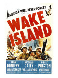 Wake Island  Foreground from Left: Macdonald Carey  Brian Donlevy  Robert Preston  1942