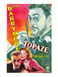 Topaze  John Barrymore  Myrna Loy  1933