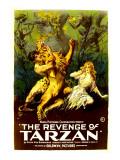 The Revenge of Tarzan  Gene Pollar  Karla Schramm  1920