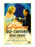 Twentieth Century (Aka 20th Century)  Carole Lombard  John Barrymore on Midget Window Card  1934