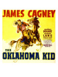 The Oklahoma Kid  James Cagney on Window Card  1939