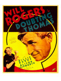Doubting Thomas  Billie Burke  Will Rogers on Trimmed Window Card  1935