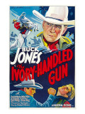The Ivory-Handled Gun  Top and Bottom Left: Buck Jones  1935
