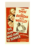 The Man Who Came to Dinner  Bette Davis  Ann Sheridan  Jimmy Durante  1942