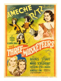 The Three Musketeers  the Ritz Brothers  Don Ameche  Gloria Stuart  Pauline Moore  1939