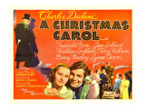A Christmas Carol  Reginald Owen  Lynne Carver  1938
