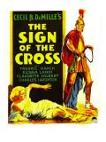 Sign of the Cross  Elissa Landi  Fredric March on Window Card  1932