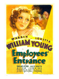 Employees&#39; Entrance  Loretta Young  Warren William  1933