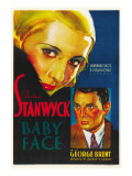 Baby Face  Barbara Stanwyck  George Brent  1933
