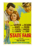 State Fair  Lew Ayres  Janet Ayres  Will Rogers  1933