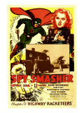 Spy Smasher  Kane Richmond  Marguerite Chapman in 'Chapter 9: Highway Racketeers'  1942