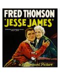 Jesse James  Style 'B' Poster  1927
